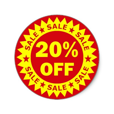 20% OFF When You Spend Over $50 (Thurs June 30 - Sat July 9)