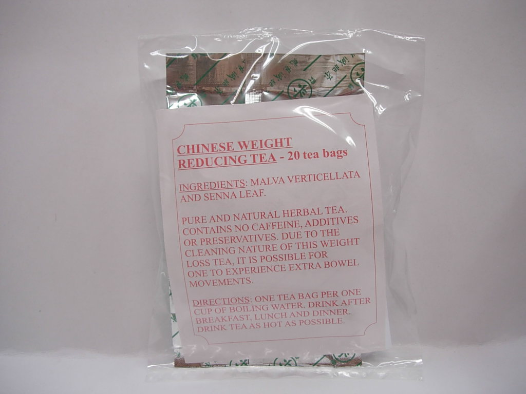 Chinese Weight Reducing Tea