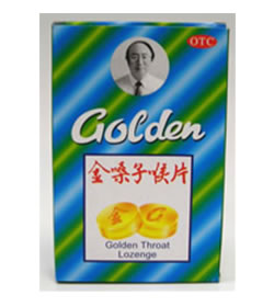Golden Throat Herbal Lozenge