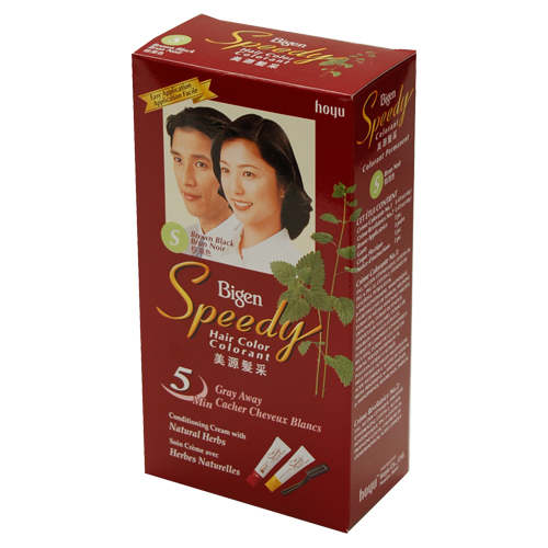 Bigen Speedy Hair Dye (Brown Black)